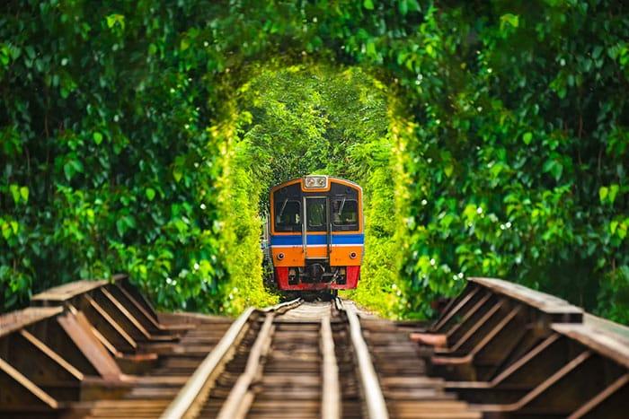 Trenes de Bangkok a Chiang Mai