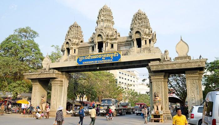 De Bangkok a Cambodia en autobús