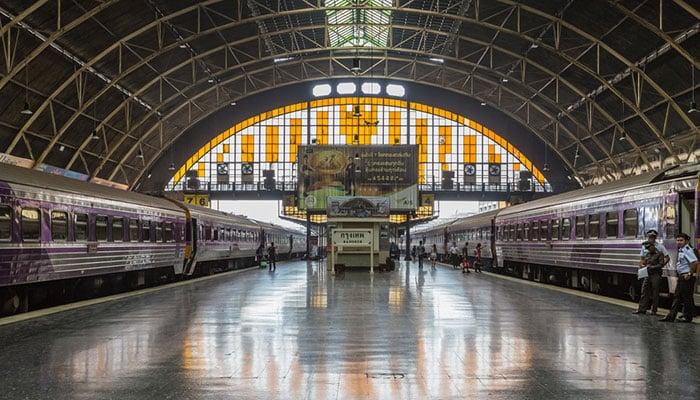 Estación de trenes de Bangkok (Hua Lamphong)