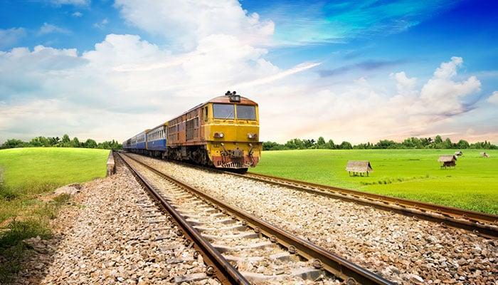 En tren de Bangkok a Camboya