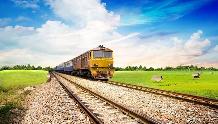 Trenes de Bangkok a Koh Phangan