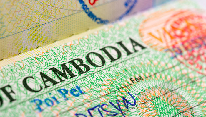 Información de visado de Camboya