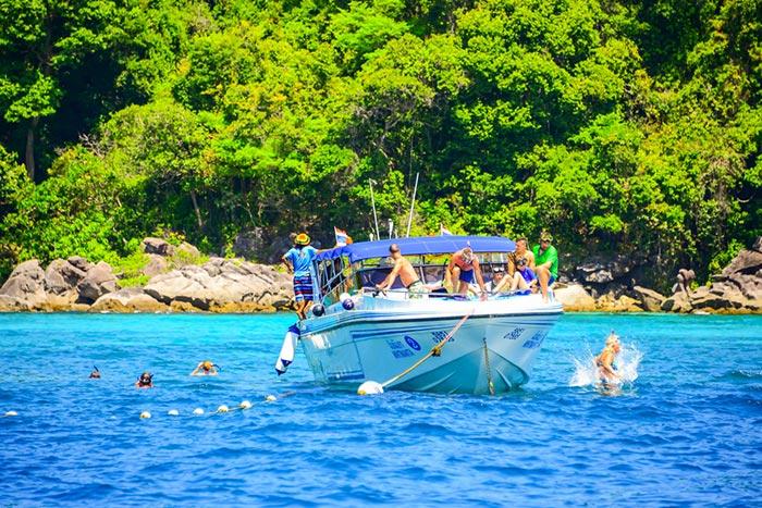 Schnellboot von Krabi nach Phi Phi Phi