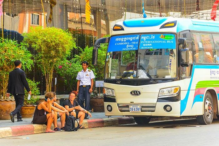 De Phnom Penh a Siem Reap en autobús