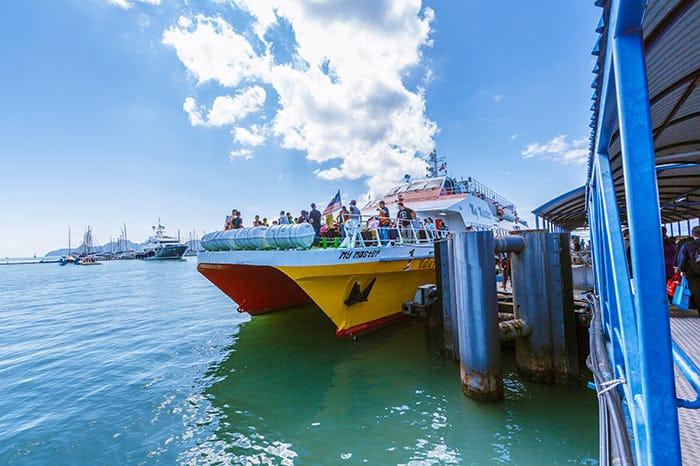 Ferry rápido de Penang a Langkawi