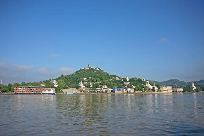 Mit dem Boot von Mandalay nach Bagan