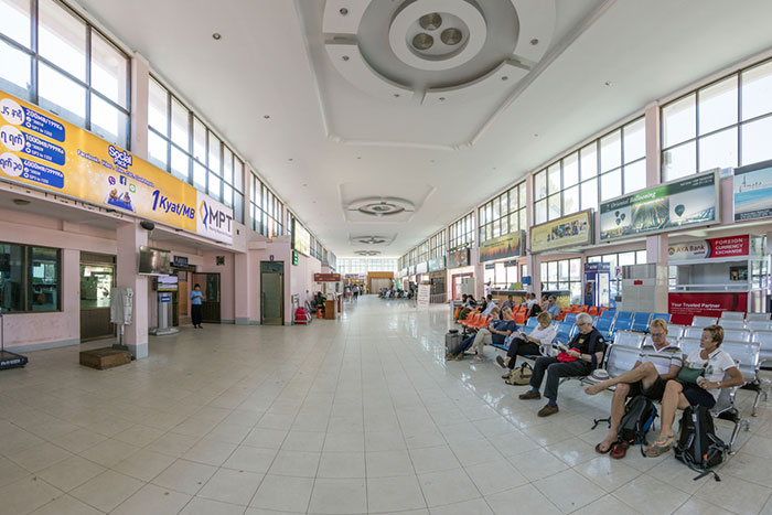 Aeropuerto de Nyaung U en Bagan Nyaung U