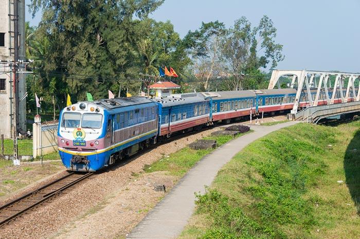 El tren de Hanói a Hue