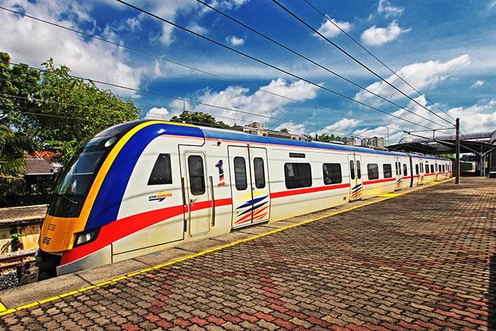 De Singapur a Kuala Lumpur en tren