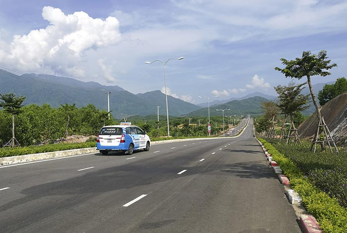De Da Nang a Hue en taxi