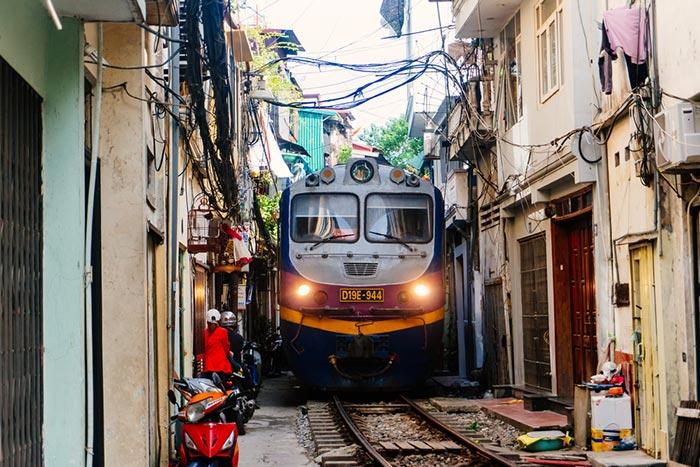 Formas de viajar de Hanói a Hue