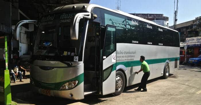 Busse von Chiang Mai nach Chiang Rai