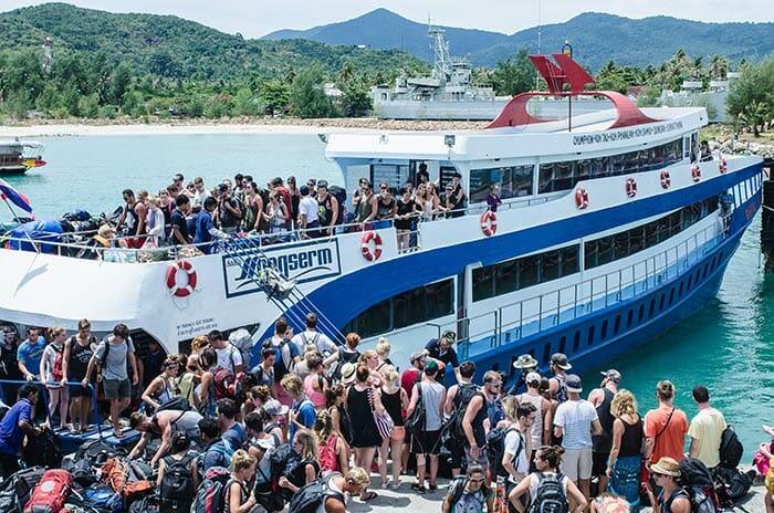 Songserm ofrece un viaje económico en ferry