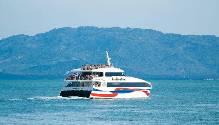 Catamarán rápido de Lomprayah