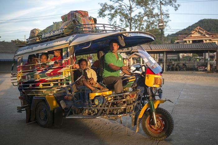 De Chiang Mai a Luang Prabang en autobús