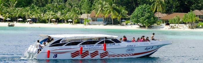 Barco rápido de Phuket a Koh Lanta