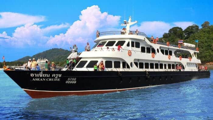 De Phuket a Koh Lanta en ferry