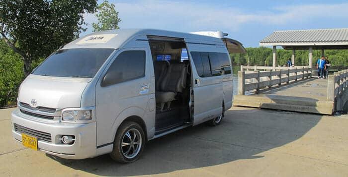 Autobús, furgoneta o taxi de Phuket a Koh Lanta