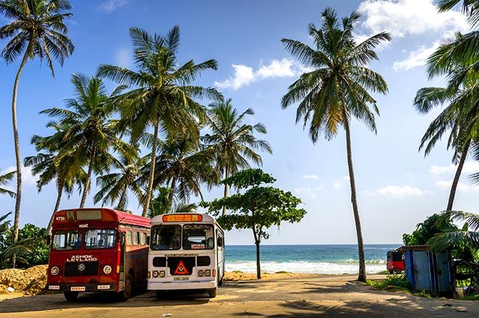 De Colombo a Galle en autobús