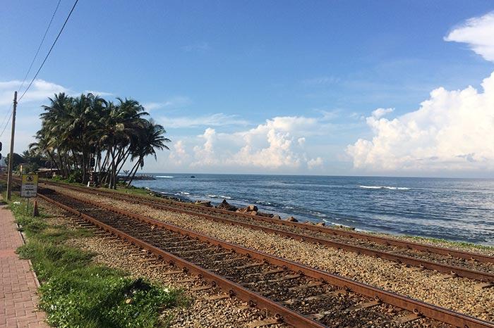 En tren de Colombo a Galle
