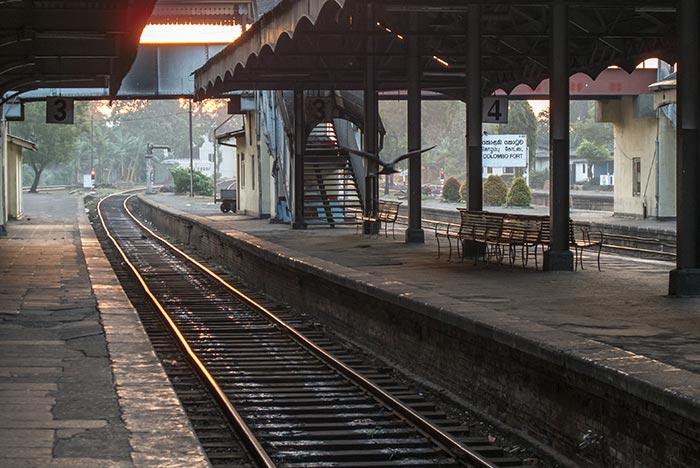 Tren de Colombo a Kandy