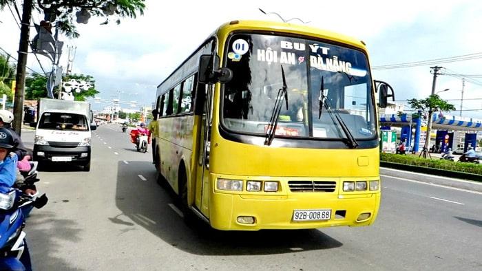 Autobús público de Da Nang a Hoi An