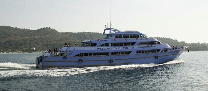 El ferry de Krabi a Phuket