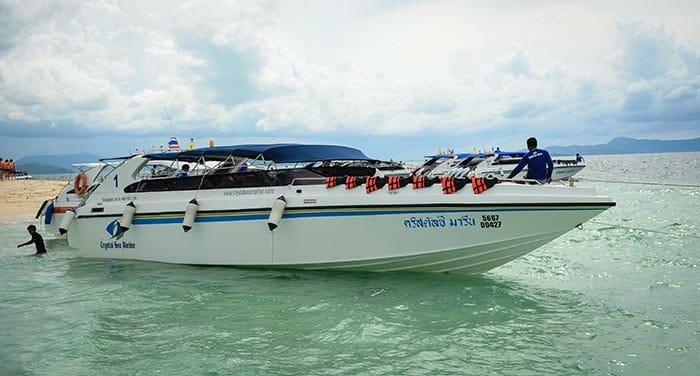 De Krabi a Phuket en barco rápido