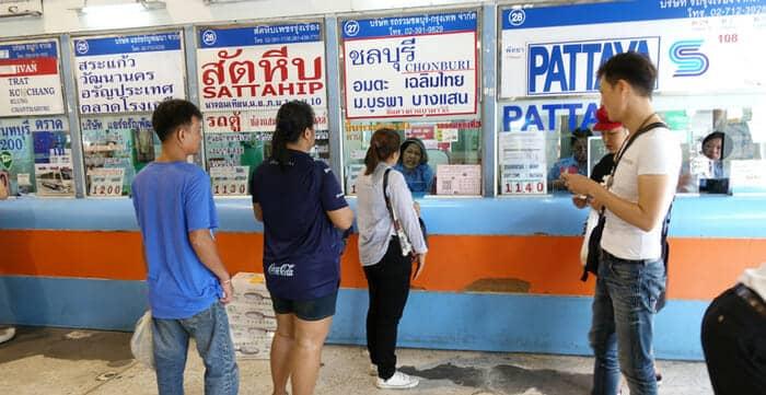Dónde comprar los billetes para viajar en autobús por Tailandia