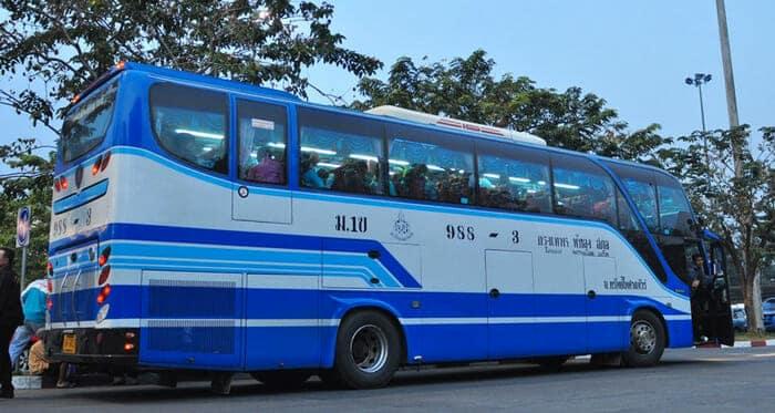Bus Express en Tailandia