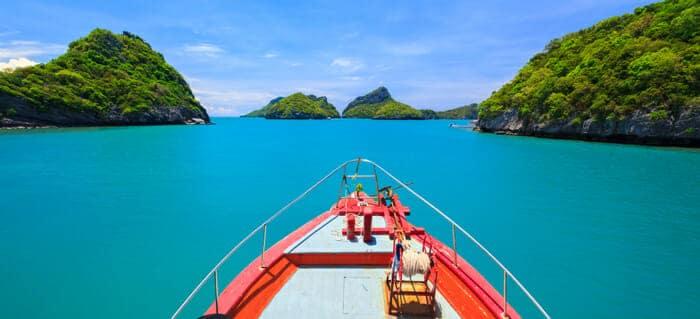 Opciones para viajar de Koh Phangan a Koh Samui