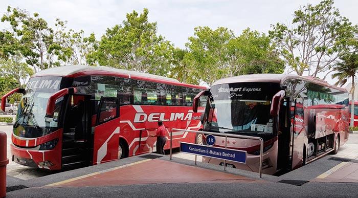 Autobús de Kuala Lumpur a Malacca