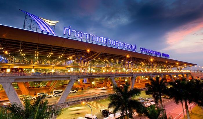 Vuelos de Bangkok a Rangún