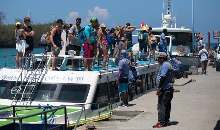 Ferry privado y barco rápido de Bali a Lombok