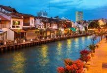 De Singapur a Malaca