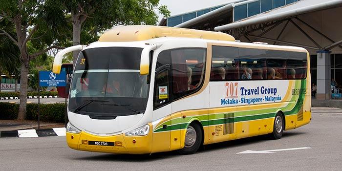 Autobús de Singapur a Malaca