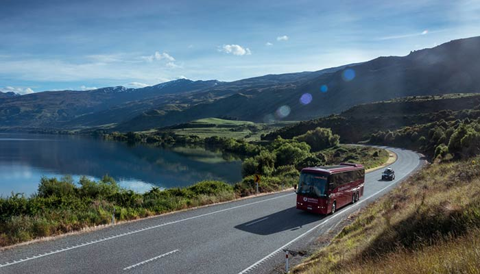 De Auckland a Hamilton en autobús