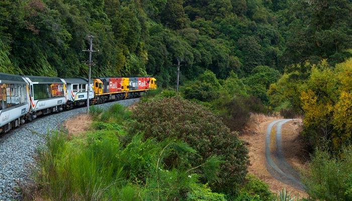 De Auckland a Hamilton en tren