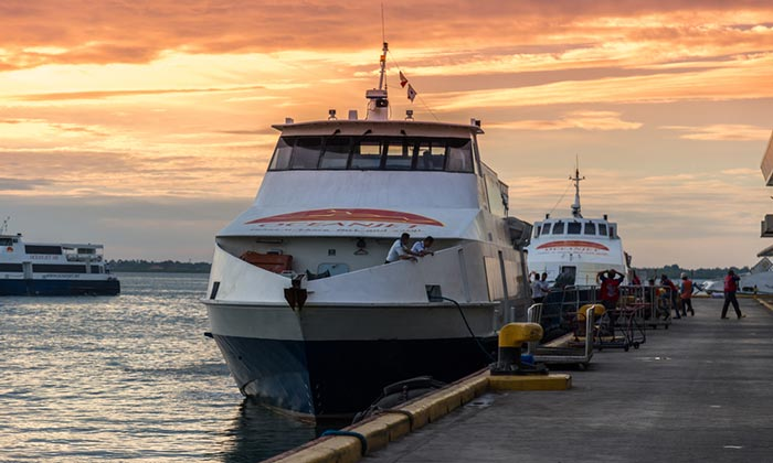 Ferris rápidos de Cebú a Bohol
