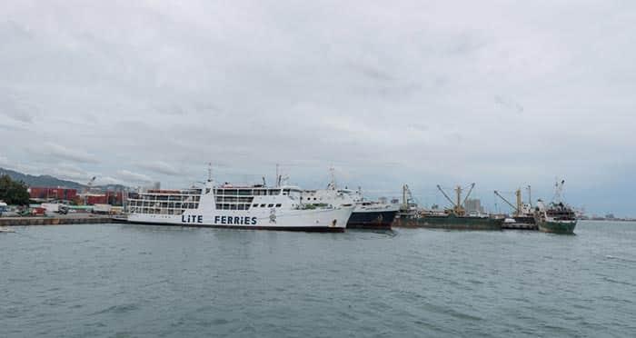 Ferry lento de Cebú a Bohol