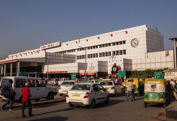 De Delhi a Agra en tren