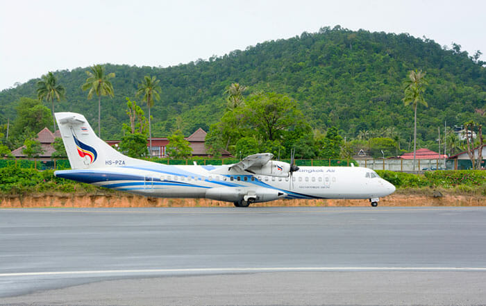 Vuelo de Pattaya a Koh Samui