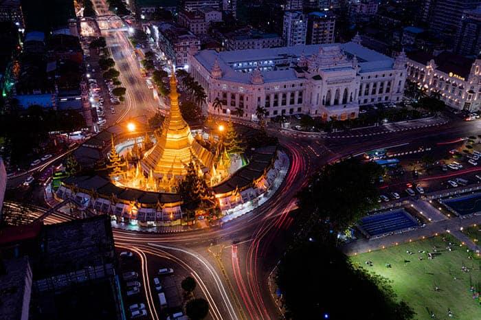 Opciones para viajar de Rangún a Mandalay