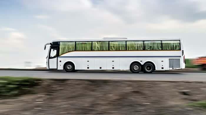 De Agra a Jaipur en autobús