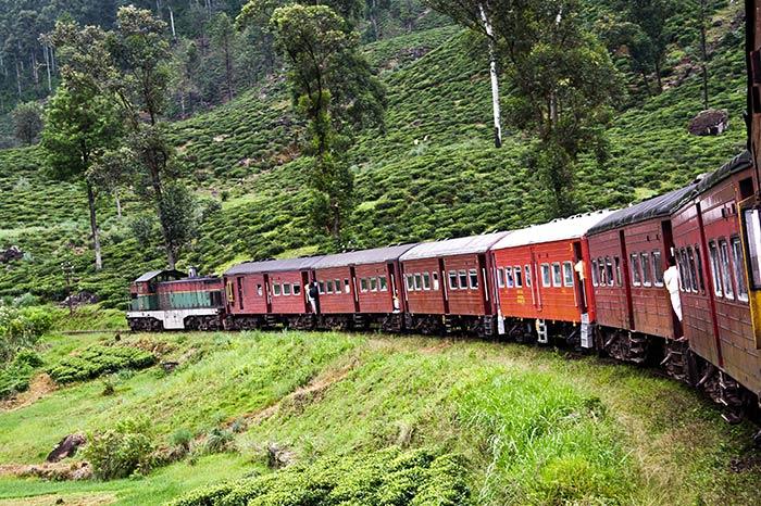 De Colombo a Trincomalee en tren