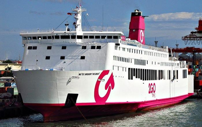 De Puerto Princesa a Corón en ferry