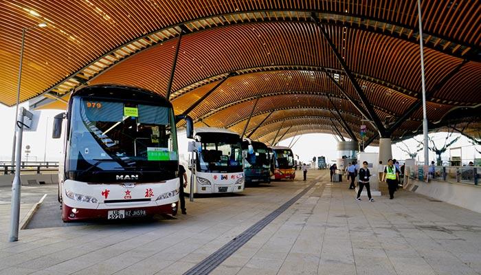 De Hong Kong a Macao en autobús