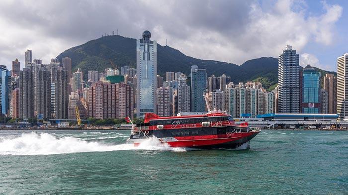 De Hong Kong a Macao en ferry