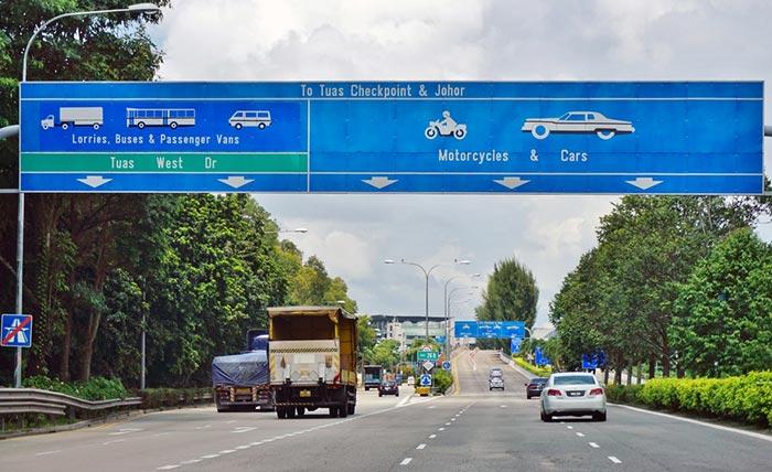 Opciones para viajar de Johor Bahru a Singapur