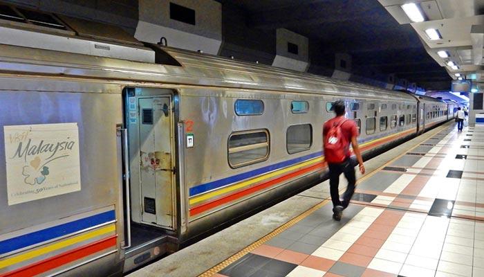 De Johor Bahru a Singapur en tren